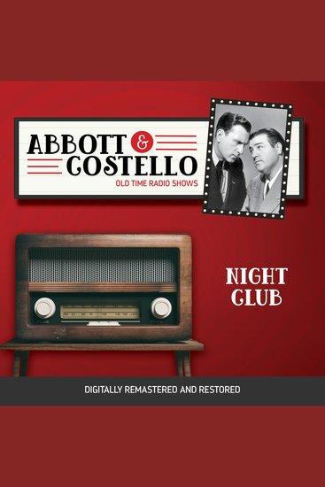 Abbott and Costello: Night Club - cover