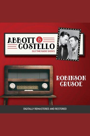Abbott and Costello: Robinson Crusoe - cover