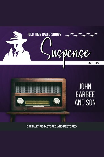 Suspense: John Barbee and Son - cover