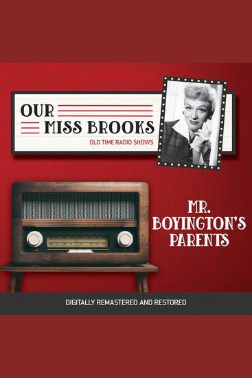 Our Miss Brooks: Mr Boyington's Parents - cover