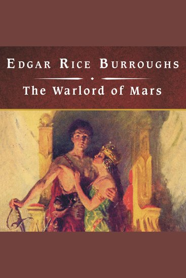 The Warlord of Mars - cover