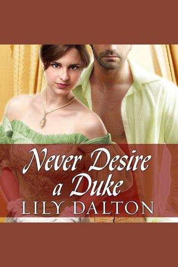 Never Desire a Duke - cover