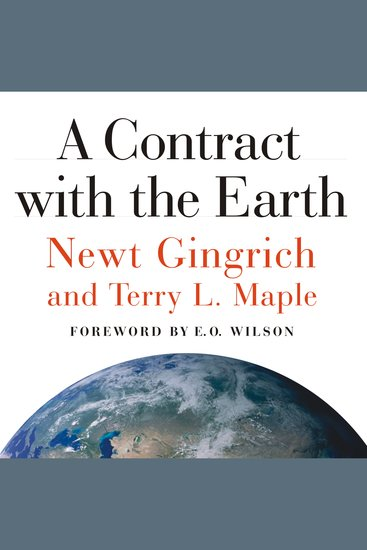 A Contract with the Earth - cover