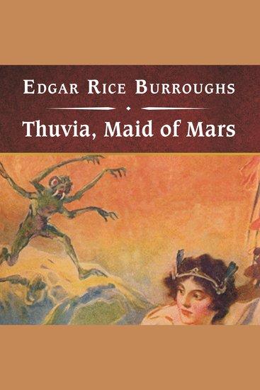Thuvia Maid of Mars - cover