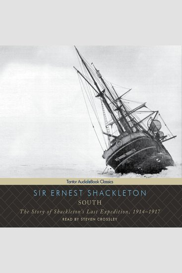South - The Story of Shackleton's Last Expedition 1914-1917 - cover