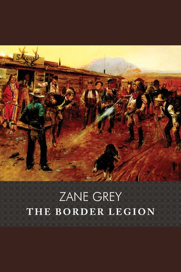 The Border Legion - cover