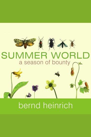 Summer World - A Season of Bounty - cover