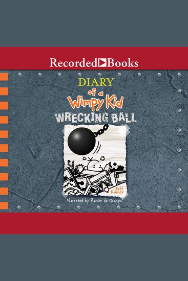 Diary of a Wimpy Kid: Wrecking Ball - cover