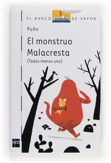 El monstruo Malacresta - cover