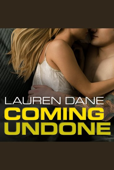 Coming Undone - cover
