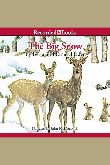 The Big Snow - cover