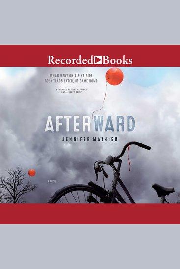 Afterward - A Novel - cover