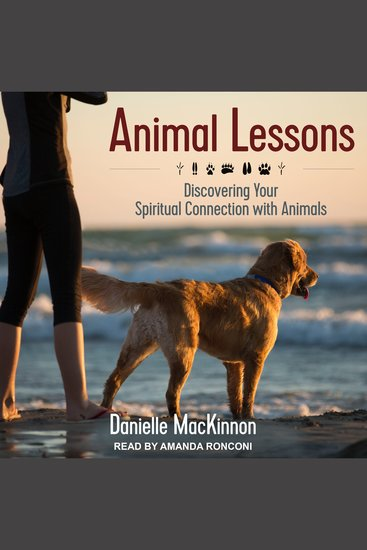 Animal Lessons - Discovering Your Spiritual Connection with Animals - cover