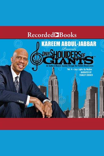 On the Shoulders of GiantsVol 4 - Jazz Lights Up Harlem - cover