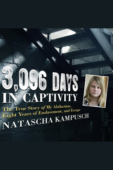 3096 Days in Captivity - The True Story of My Abduction Eight Years of Enslavement and Escape - cover