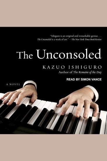 The Unconsoled - cover