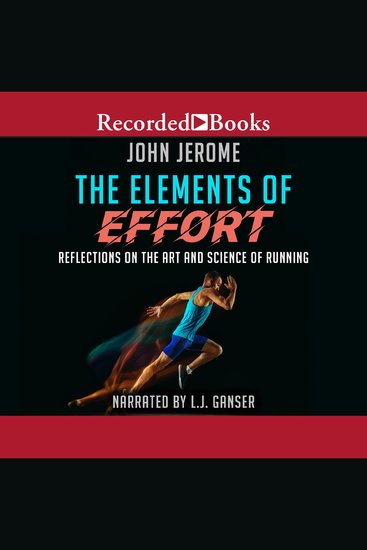 The Elements of Effort - Reflections on the Art and Science of Running - cover