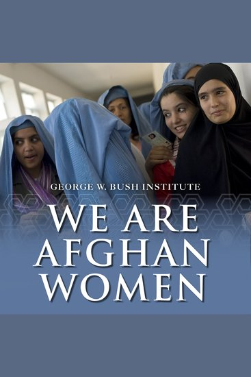 We Are Afghan Women - Voices of Hope - cover