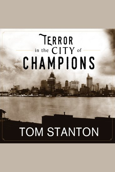 Terror in the City of Champions - Murder Baseball and the Secret Society That Shocked Depression-era Detroit - cover