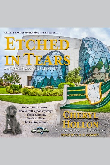 Etched in Tears - A Webb's Glass Shop Mystery - cover