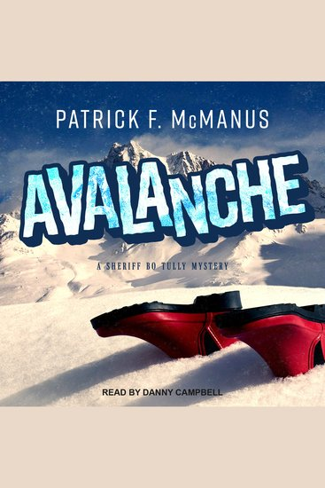 Avalanche - A Sheriff Bo Tully Mystery - cover