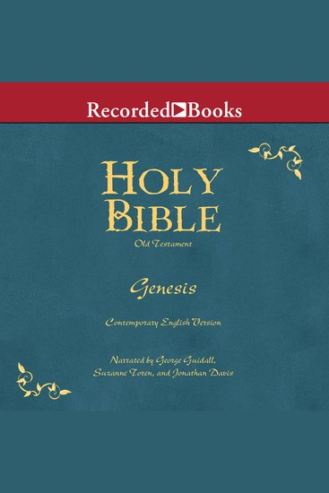 Holy Bible: Genesis Volume 1 - cover