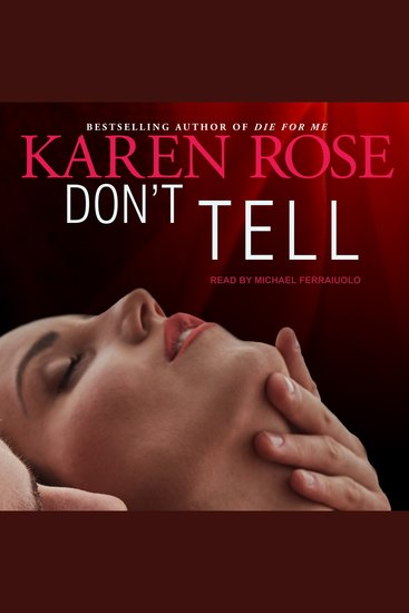 Don't Tell - cover