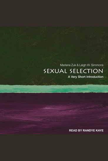 Sexual Selection - A Very Short Introduction - cover