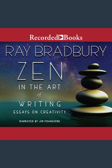 Zen in the Art of Writing - cover