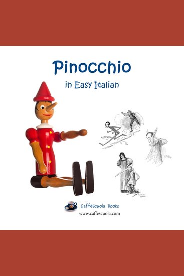Pinocchio in Easy Italian - cover