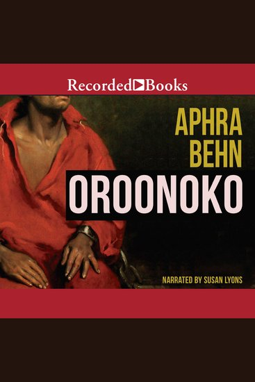 Oroonoko - cover