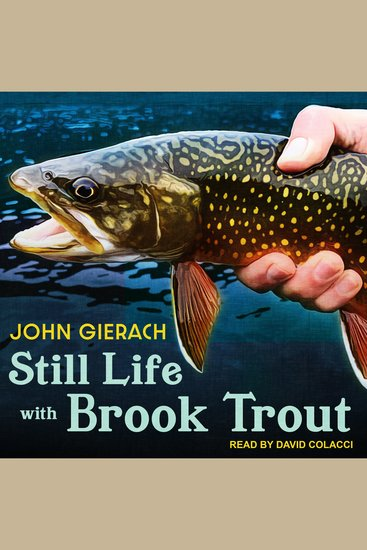 Still Life with Brook Trout - cover