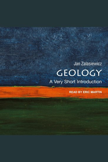 Geology - A Very Short Introduction - cover