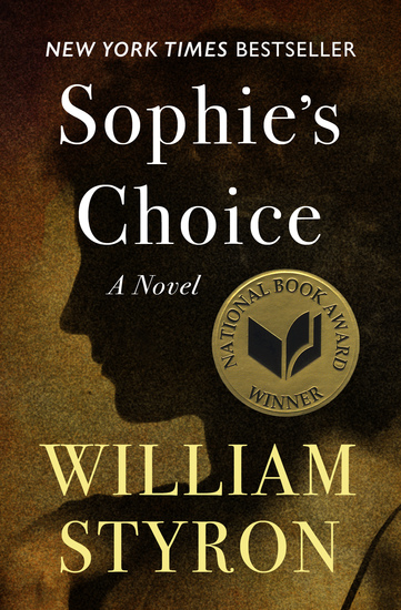 Sophie's Choice - A Novel - cover