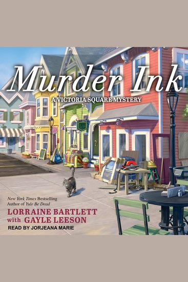 Murder Ink - Victoria Square Mystery Book 6 - cover