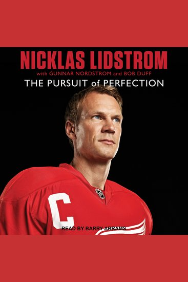 Nicklas Lidstrom - The Pursuit of Perfection - cover