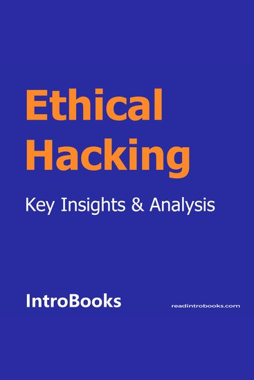 Ethical Hacking - cover