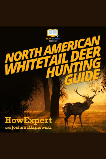 North American Whitetail Deer Mini Hunting Guide - cover