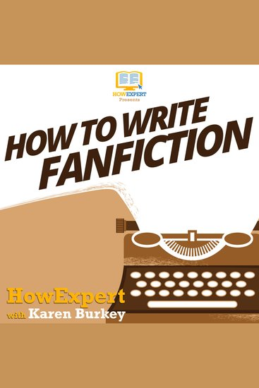 How To Write Fanfiction - cover