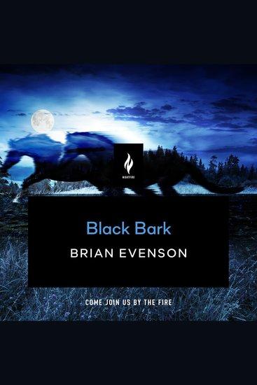 Black Bark - cover
