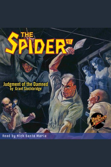Judgment of the Damned - cover