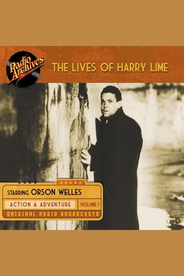 The Lives of Harry Lime Volume 1 - cover