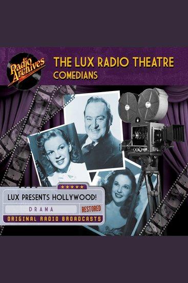 Lux Radio Theatre - The Comedians - cover