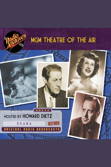 MGM Theatre of the Air - cover