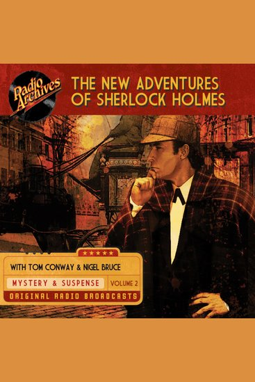 The New Adventures of Sherlock Holmes Volume 2 - cover