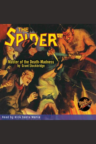The Master of the Death-Madness - cover