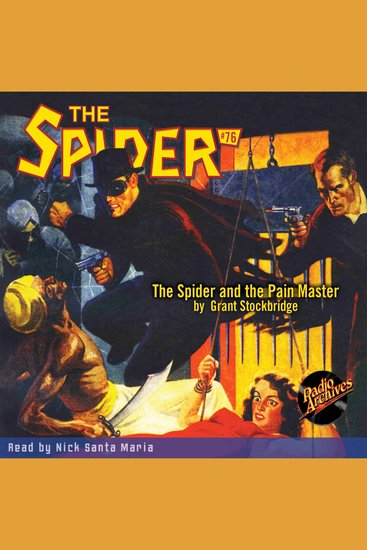 The Spider and the Pain Master - cover