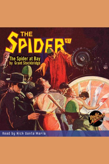 The Spider at Bay - cover