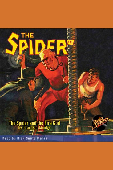 The Spider and the Fire God - cover