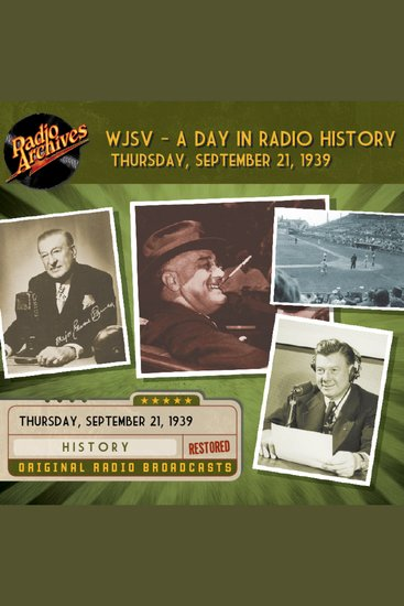 WJSV - A Day in Radio History - cover